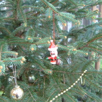 てぃんかぁべる クリスマスツリー 2014年